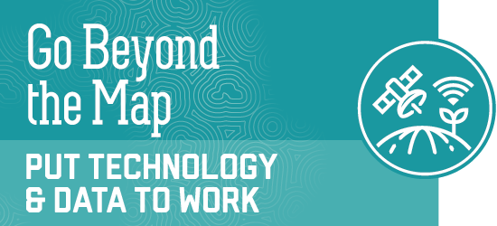 go beyond the map - put technology and data to work