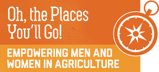 oh, the place you will go - empowering men and women in agriculture