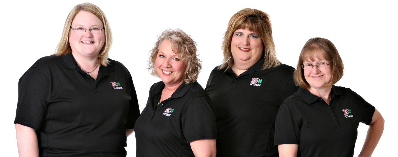 Angela, Tammy, Brenda, Carol office staff