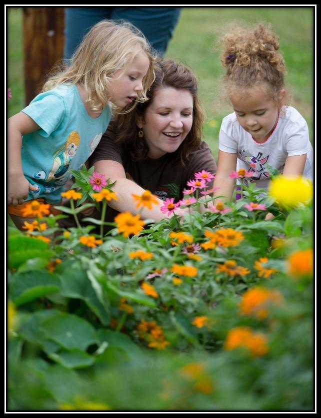 Master Gardener with Preschool Group
