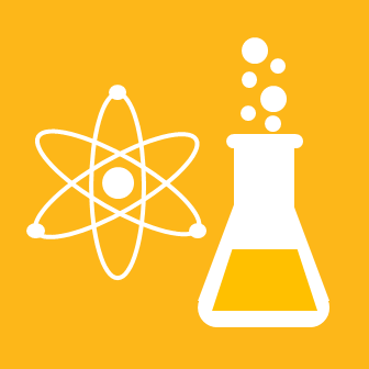 4-H Icon Flask and Atom