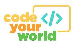 Code Your World! Logo
