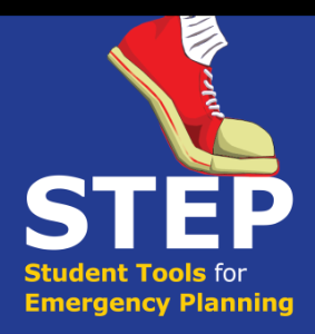 Student Tools for Emergency Planning (STEP) Logo