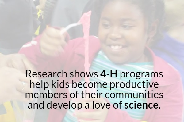 4-H Science Infographic
