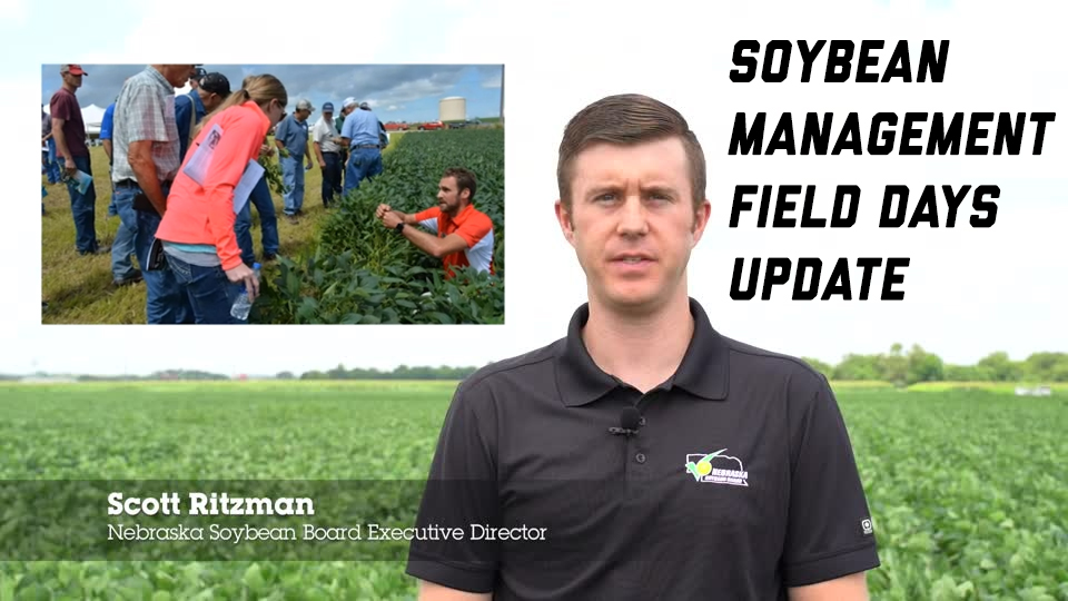 2020 Nebraska Soybean Management Field Days Update:  Research Ongoing – Information To be Shared Virtually