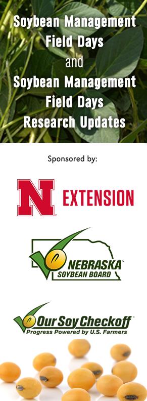Sponsors - Nebraska Soybean Board and Nebraska Extension