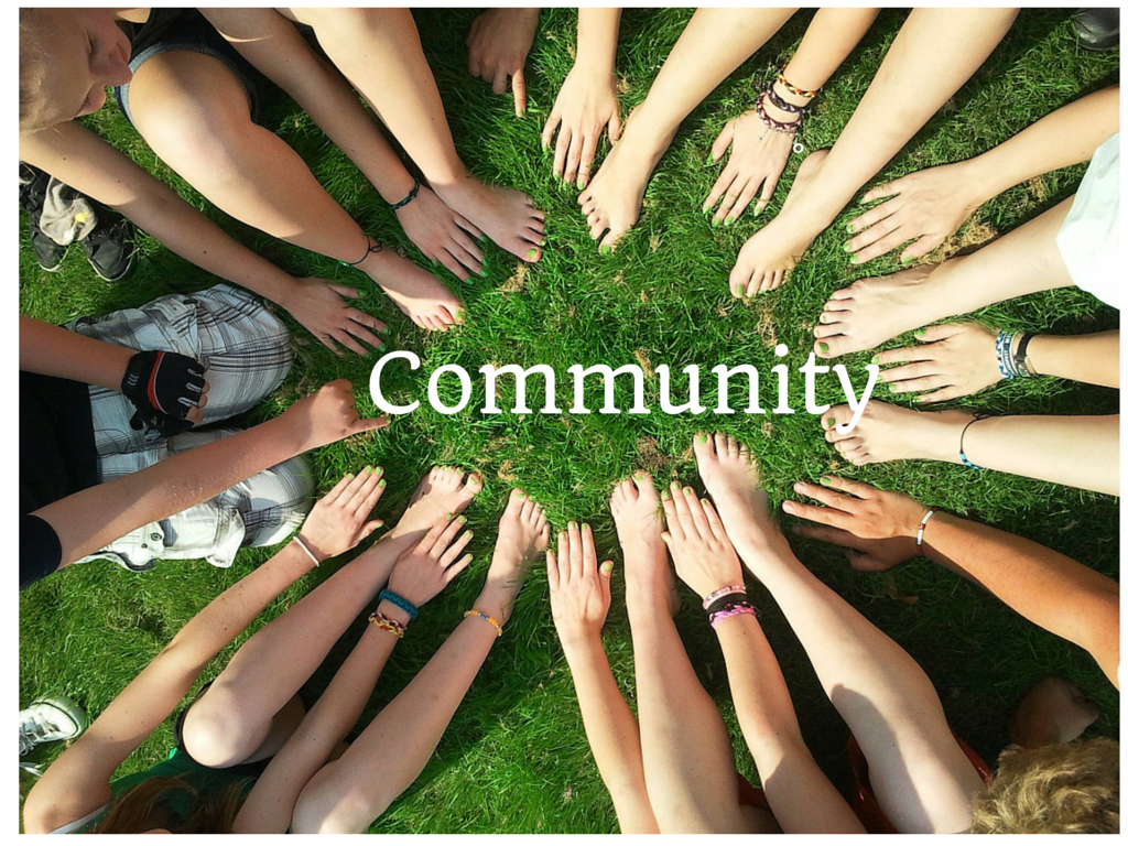 Community and Leadership Development Hands in Circle