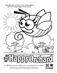 Happy Orchard Coloring Page 5