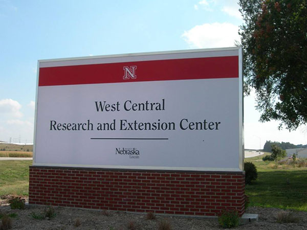 West Central sign