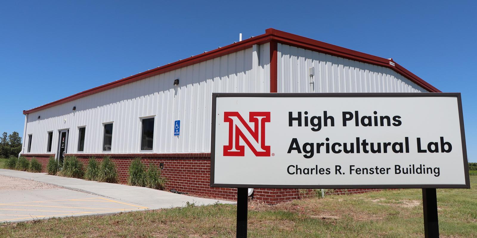 High Plains Ag Lab headquarters building near Sidney, NE